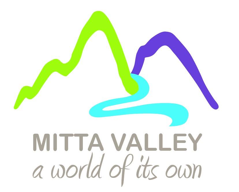 Mitta Valley Logo on white background